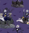 Nightmare Before Christmas Halloween Cotton Fabric -Scenic
