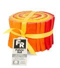 Jelly Roll Cotton Fabric Pack 2.5\u0027\u0027x42\u0027\u0027-Yellow Texture