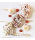 Knit Collage Flower Garland Yarn
