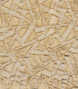 Yaya Han Cosplay Scattered Geometric Fabric-Gold