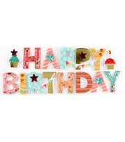 Jolee's Boutique Stickers-Happy Birthday, , hi-res