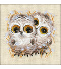 RIOLIS Galina Skabeeva Counted Cross Stitch Kit-Little Owls