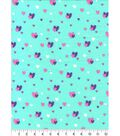Snuggle Flannel Fabric -Glam Hearts