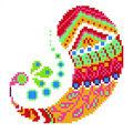 Diamond Embroidery Facet Art Kit 9.7\u0022X9.7\u0022-Paisley Groove