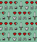 Minecraft Cotton Fabric 43\u0027\u0027-Icons