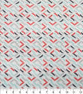 Quilter\u0027s Showcase Cotton Fabric-Broken Squares Red Teal