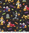 Disney Mickey & Friends Halloween Cotton Fabric 43\u0022-Fun