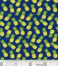 Novelty Cotton Fabric-Miniature Pineapples