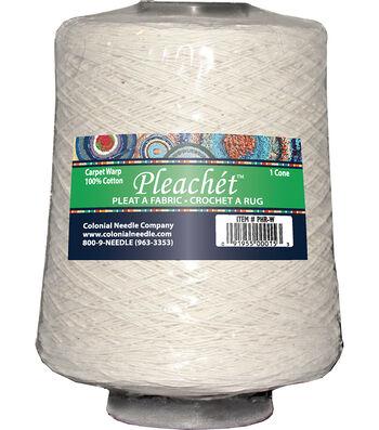 Pleachet Carpet Warp-1lb Cone