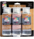 Tulip ColorShot 3 pk Instant Fabric Color Sprays-Hot Sand