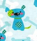 Snuggle Flannel Fabric -Diamond Dog