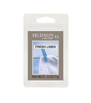 Hudson 43 Candle & Light Collection Wax Melt-Fresh Linen