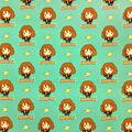 Harry Potter Cotton Fabric-Hermione Kawaii