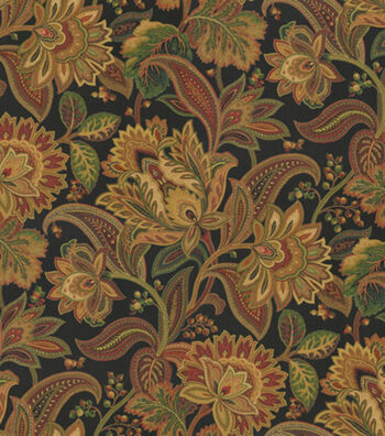 "SMC Designs Home Decor Multi-Purpose Decor Fabric 54""-Valentina Noir"