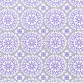 Nursery Cotton Fabric -Lilac Medallion