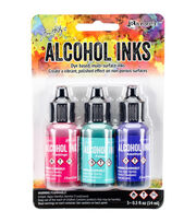 Tim Holtz 3 Pack 0.5fl.oz. Alcohol Ink-Beach Deco, , hi-res