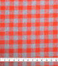 Plaiditudes Brushed Cotton Apparel Fabric -Gingham Plaid