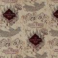Harry Potter Quilt Cotton Fabric 44\u0022-Marauders Map