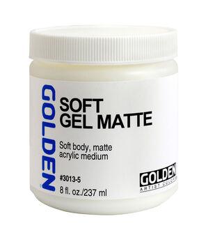 Golden Soft Gel Matte 8oz.