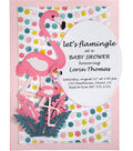 Sizzix Thinlits Dies By Jen Long-Flamingo Fold-A-Long Card