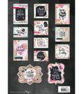 Studio Light Hand Lettering Die-Cut Card Toppers 12/Pkg