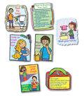 Hygiene: Kid-Drawn Bulletin Board Set Grade K-3, 2 Sets