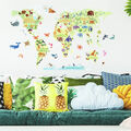 York Wallcoverings Wall Decals-Kids World Map