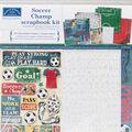 Karen Foster Scrapbook Page Kit 12\u0022X12\u0022-Soccer Champ