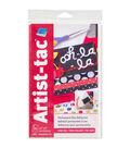 Grafix Artist-Tac 25pcs 5.5\u0027\u0027x9\u0027\u0027 Dry Transfer Adhesive Sheets