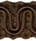 Wav 1/2 Scroll Gimp 12yd Chocolate Brown