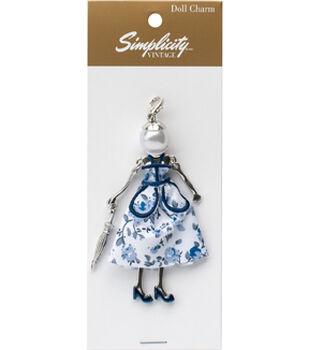 Simplicity Vintage Doll Charm-Dorothy