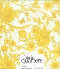 Fabric Quarters Cotton Fabric 18\u0022-Assorted Yellow