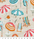 PKL Studio Outdoor Fabric 9\u0022x9\u0022 Swatch-Beach Daze Peachtini