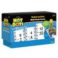 Hot Dots Flash Cards, Subtraction Facts 0-13 Set, 2 Sets