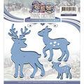 Yvonne Creations Colourful Christmas Die-Reindeer