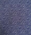 Refined Ponte Knit Fabric 58\u0022-Navy Herringbone