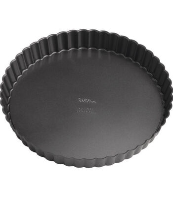 "Wilton Perfect Results 9"" Round Tart/Quiche Pan"