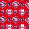Philadelphia Phillies Cotton Fabric -Logo