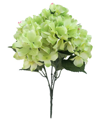 Fresh Picked Spring 20'' Hydrangea Bush-Light Green