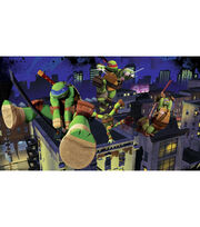 York Wallcoverings Pre Pasted Mural-TMNT Cityscape, , hi-res
