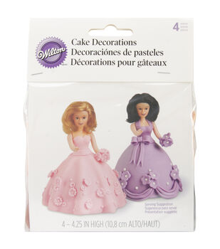 Wilton Mini Doll Picks 4/st