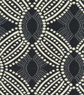 HGTV Home Multi-Purpose Decor Fabric 55\u0022-Time Zone Onyx
