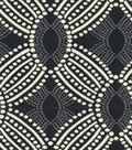 Home Decor 8\u0022x8\u0022 Fabric Swatch-HGTV HOME Time Zone Onyx