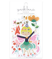 Park Lane Paperie 24 pk Jumbo Washi Stickers-Young Girl, , hi-res