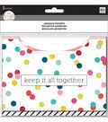 The Happy Planner Adhesive Pockets-Dot