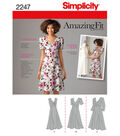 Simplicity Pattern 2247AA 10-12-14-1-Simplicity Misses