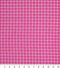 Keepsake Calico Cotton Fabric-Floral Tile Pink