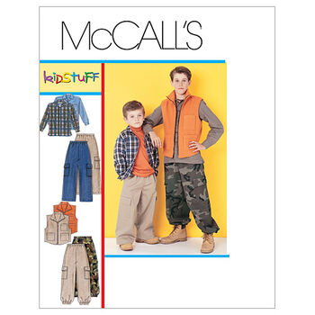 McCall's Boys Casual-M6222