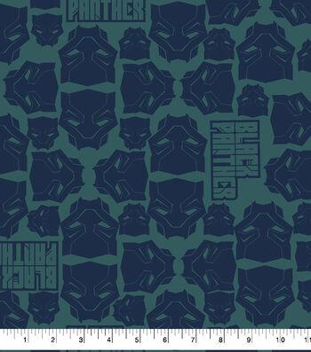 """Marvel Black Panther Flannel Fabric 42""""-Masks"""