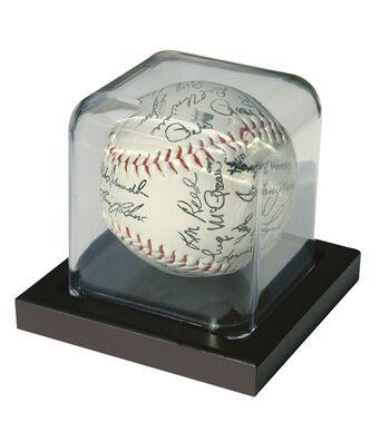 Baseball Display Case 3X3-Black